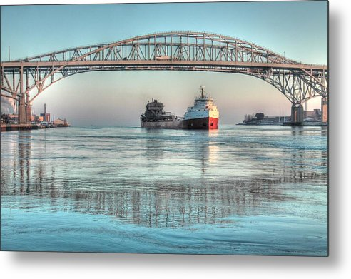 State Park Metal Print featuring the photograph 5383 Frontenac Vs2 by Kathy Wesserling