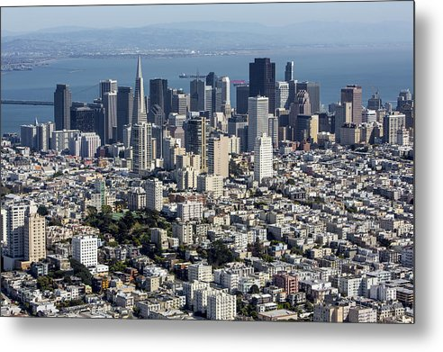 America Metal Print featuring the photograph San Francisco, California Ca by Dave Cleaveland