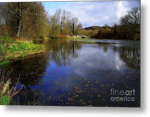 Lake. Spring. Landscape Metal Print featuring the photograph Lake by Beth Grant