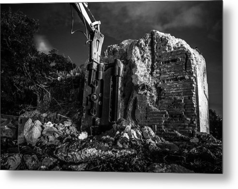 Room Metal Print featuring the photograph Landscape 14 D Bsl by Otri Park