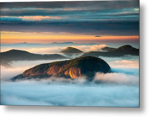 Looking Glass Rock Metal Print featuring the photograph Looking Glass Rock Blue Ridge Parkway Nc Western North Carolina by Dave Allen
