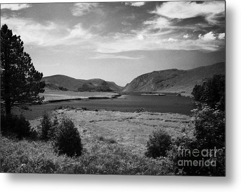 County Metal Print featuring the photograph lough beagh glenveagh national park county Donegal Republic of Ireland by Joe Fox