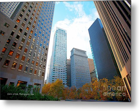 My Office In Downtown San Francisco Metal Print featuring the photograph Office Space For Rent In Downtown San Francisco by Artist and Photographer Laura Wrede