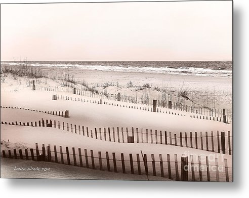 Virgina Beach Vacation Memories Metal Print featuring the photograph Virgina Beach Vacation Memories by Artist and Photographer Laura Wrede
