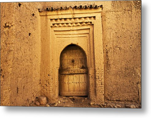 Door Metal Print featuring the photograph Mosk by Thomas Levesque