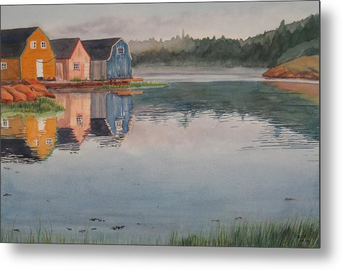 Pei Metal Print featuring the painting P.e.i. Morning by Debbie Homewood