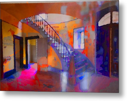 Stairs Metal Print featuring the photograph Stairway by Danielle Stephenson