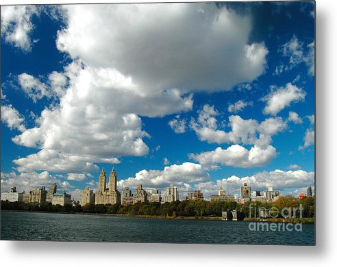 West Side Metal Print featuring the photograph Upper West Side Cityscape by Allan Einhorn