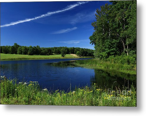 Landscapes Metal Print featuring the photograph Clear Lake by Dan Hilsenrath