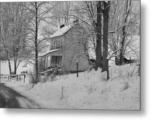 Metal Print featuring the photograph Cold Winter Day by Jeffrey Randolph