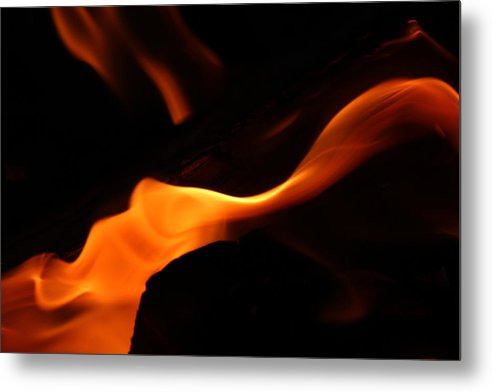 Fire Metal Print featuring the photograph Flame Of Passion by Dori Sumter