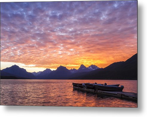 Art Metal Print featuring the photograph Morning Light by Jon Glaser