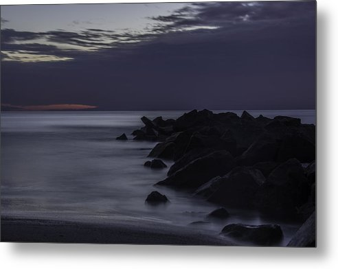 Landscape Metal Print featuring the photograph Prequel To Ocean Sunrise Song by Yvonne Powell