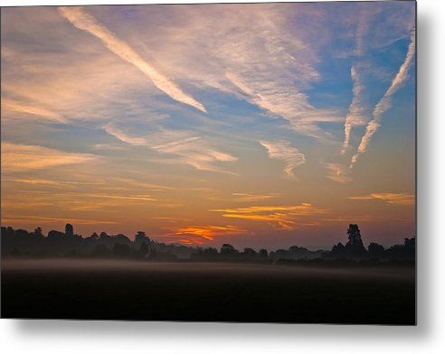 Sunrise Metal Print featuring the photograph Sunrise Over Bartonsham by Rob Meredith