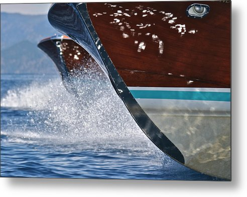 Runabout Metal Print featuring the photograph Rivas by Steven Lapkin