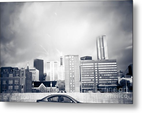 Digital Metal Print featuring the photograph Atlanta Fog by James Davidson