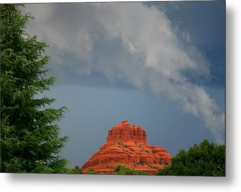 Arizona Metal Print featuring the photograph Bell Rock Mojo by Miles Stites