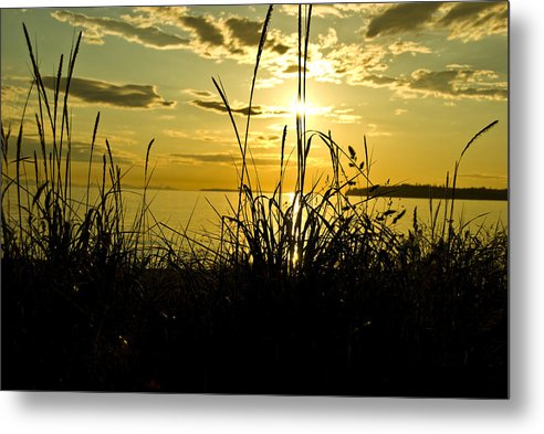 Metal Print featuring the photograph Birch Bay Sunset by JK Photography