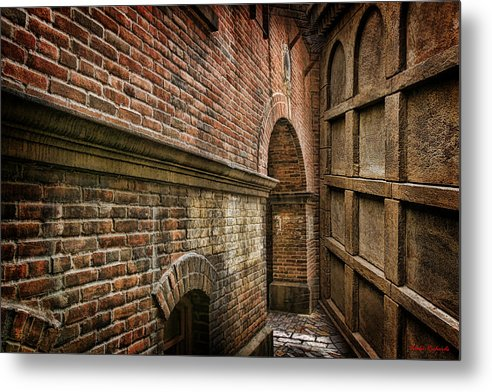 Metal Print featuring the photograph Colliding Walls by Blake Richards
