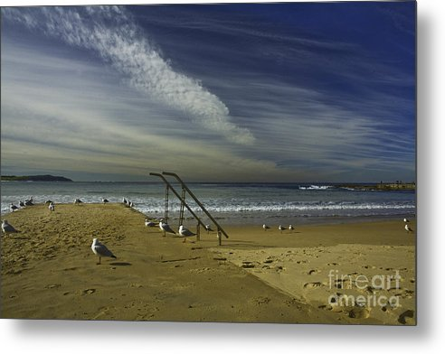Beach Metal Print featuring the photograph Dee Why Beach Sydney by Sheila Smart Fine Art Photography
