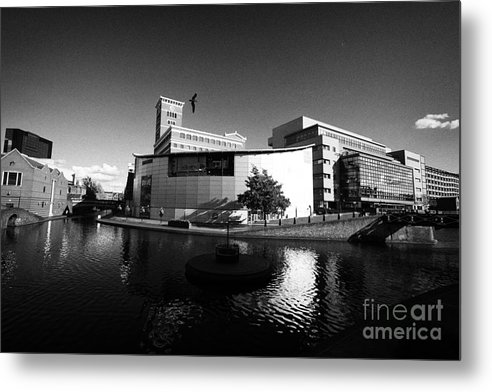Canal Metal Print featuring the photograph Deep Cutting Junction Old Turn Junction Of Birmingham Canal Navigations Main Line And Newhall Branch by Joe Fox