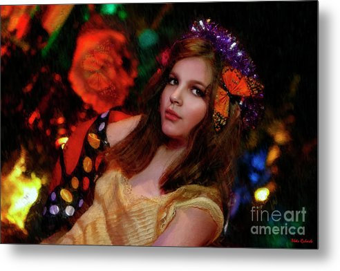 Metal Print featuring the photograph Enchanted Butterfly by Blake Richards