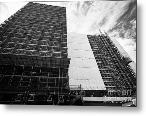 Office Metal Print featuring the photograph Refurbishment Of Lloyd House West Midlands Police Headquarters Office Development In New Financial A by Joe Fox
