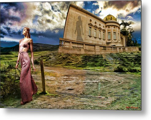 Metal Print featuring the photograph Roman Goddess by Blake Richards
