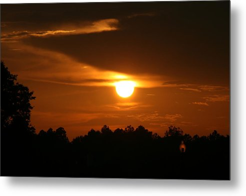Landscape Metal Print featuring the photograph Sunset In The South by Greg Sharpe