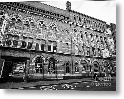 Argent Metal Print featuring the photograph The Argent Centre And The Pen Room Birmingham Uk by Joe Fox