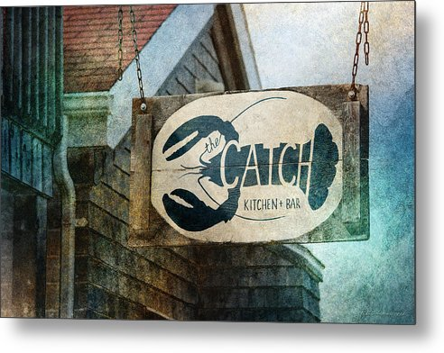 Catch Metal Print featuring the photograph The Catch by WB Johnston