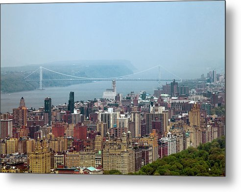 Central Park Metal Print featuring the photograph Upper West Side by Az Jackson