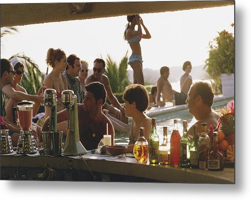 Spa Metal Print featuring the photograph Villa Vera by Slim Aarons