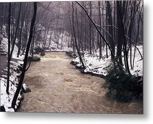 Mist Metal Print featuring the photograph 072006-18 by Mike Davis