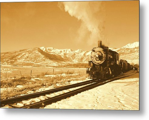 Train Metal Print featuring the photograph The Heber Creeper by Caroline Clark