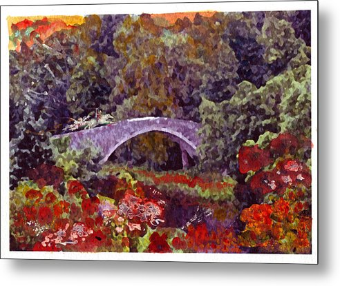 Robert Burns Metal Print featuring the painting Like Poppies Spread... by Mike Shepley DA Edin