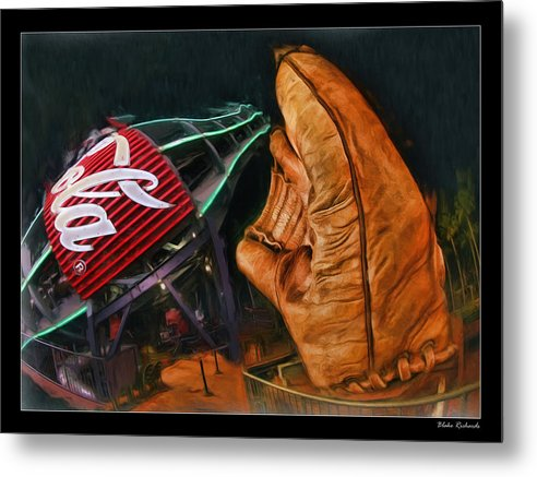 Coka Cola Metal Print featuring the photograph Coke Bottle Catch by Blake Richards