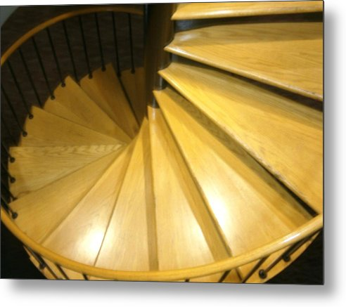 Stairs Metal Print featuring the photograph Cascade by K Lynn Jordon