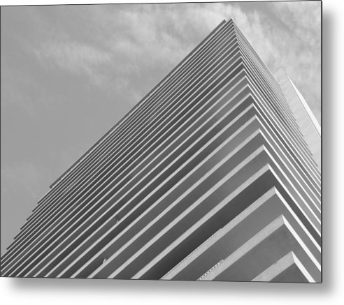 Tower Metal Print featuring the photograph Sierra 1 by Lloyd Silverman