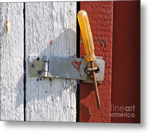 Closed Metal Print featuring the photograph Closed by Lutz Baar