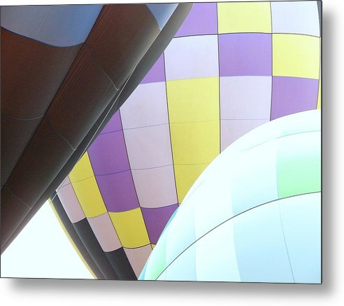 Balloons Metal Print featuring the photograph Hot Air Rising by J R Seymour