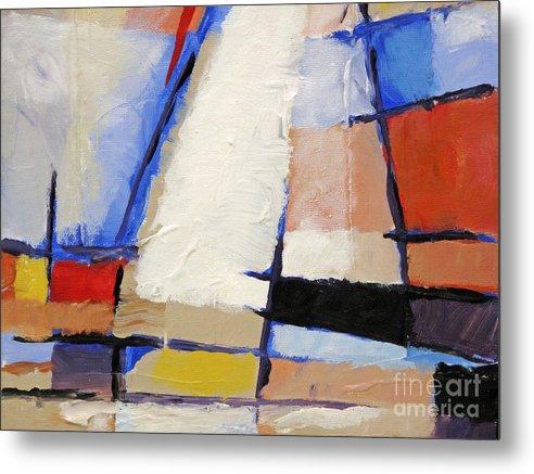 Baar Metal Print featuring the painting Big Sail by Lutz Baar