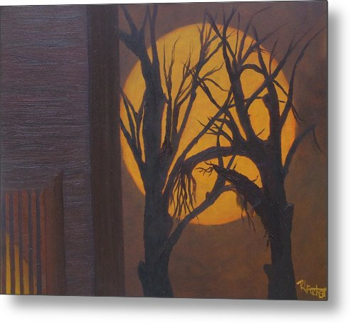 Autism Metal Print featuring the painting Autism by Rebecca Fitchett