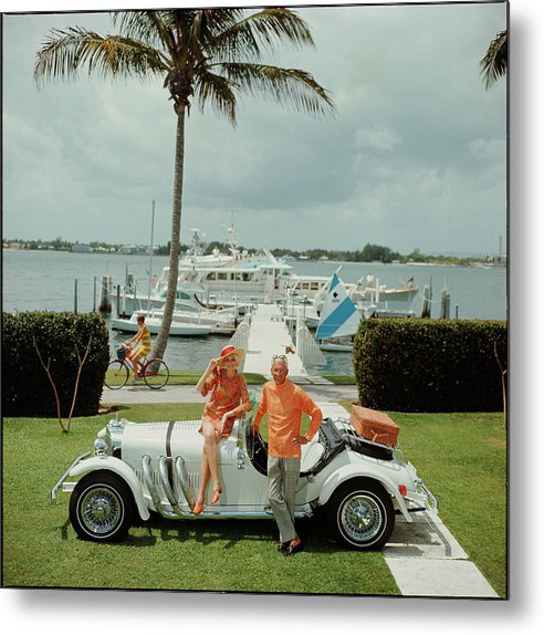 People Metal Print featuring the photograph All Mine by Slim Aarons