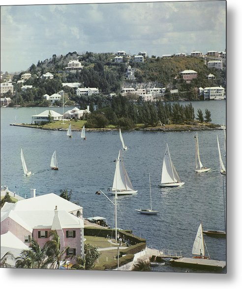 1950-1959 Metal Print featuring the photograph Bermuda View by Slim Aarons