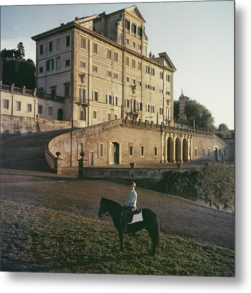 Horse Metal Print featuring the photograph Don Giovanni by Slim Aarons