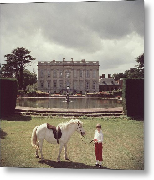 Horse Metal Print featuring the photograph Lord Of All I Survey by Slim Aarons