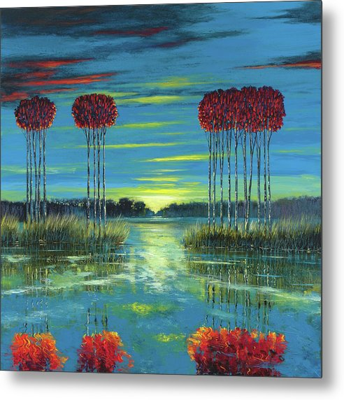 Ford Smith Metal Print featuring the painting Vivid Memory by Ford Smith