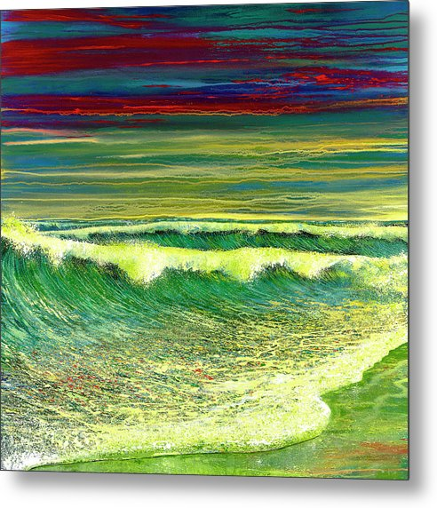 Ford Smith Metal Print featuring the painting Infinite Joy by Ford Smith