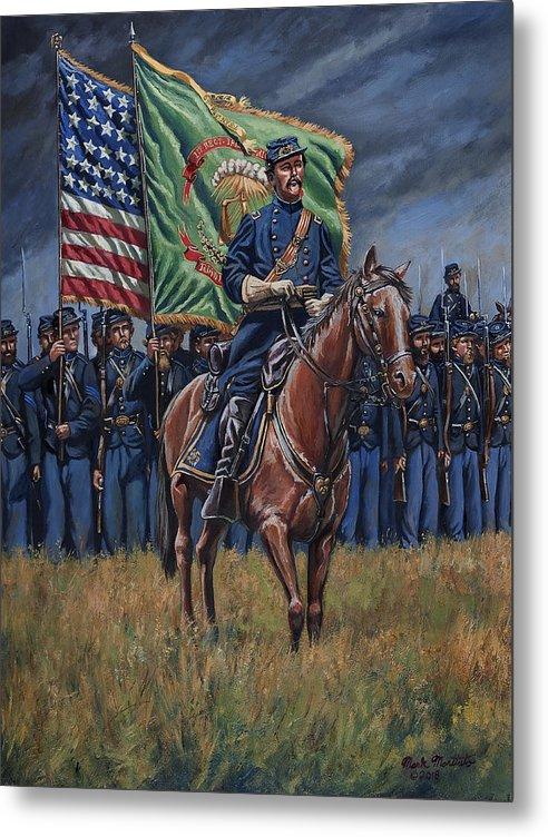 General Thomas F. Meagher - Irish Brigade - Battle of Antietam by Mark Maritato